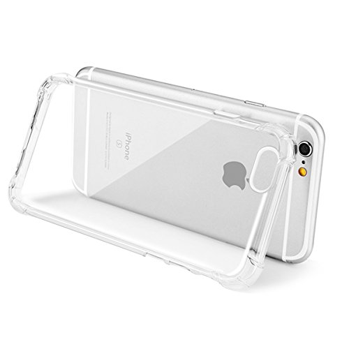 xhorizon Étui crystal de absorption de choc Etui avec le plastique transparent Plaque de TPU dure et souple Gel pare-choc pour iPhone 6 Plus / iPhone 6S Plus #1