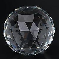 1 Unidades Prismas Transparentes Pelota de Cristal Prismas Bola de Cristal para Home Hotel Photography Decoración Sun Catcher, 60/80 mm(80MM/3.15in)