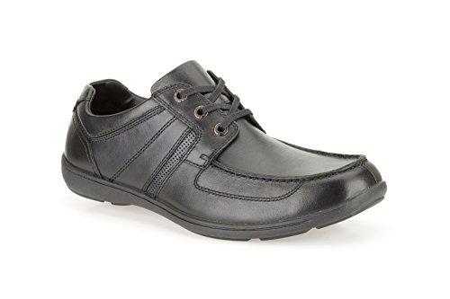 Clarks Bradley Sterne Mens Lace Up Schuhe Schwarz