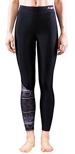 Aqua Marina Illusion Damen Rash Guard Legging Hose surf… | 06954521623429