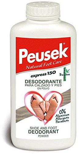 PEUSEK Polvo Desodorante Para Calzado y Pies 150 g