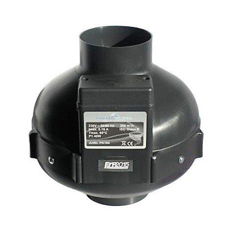 Extracteur 1 vitesse 280m3/h - 100mm - Prima Klima