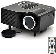 Portable Mini LED VGA, USB & HDMI Projector for 80 Inch Cinema, B