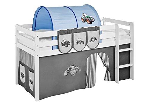 Lilokids Tunnel Trecker Blau - für Hochbett, Spielbett und Etagenbett
