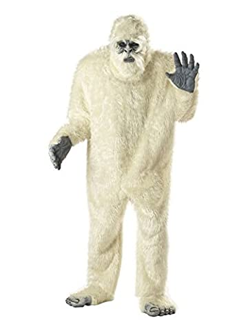 Yeti Kostüm für Erwachsene Einheitsgröße (Yeti-kostüm Kinder)
