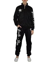 Gorilla-Star toller Damen Glanz-Trainingsanzug Jogginganzug Freizeit-Anzug in super Farben Größe S - 4XL (XXXXL)