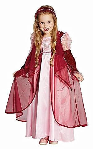 Kinder Kostüm Märchen Prinzessin Burgfräulein Karneval Fasching 104