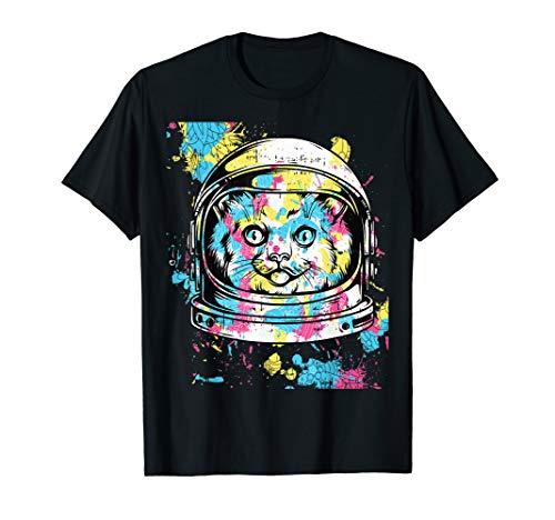 Astronaut Bunte Katzen Kostüm Einfache Halloween Geschenk - Eine Einfache Katze Kostüm