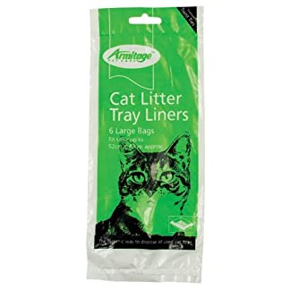 (Armitage Pet care) Cat Litter Tray Liners (Large) 6 Pack 7