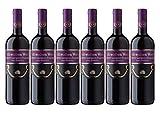 Cramele Recas | SCHWABEN WEIN Cabernet Sauvignon & Pinot Noir - Rotwein lieblich aus Rumänien | Weinpaket 6 x 0,75 L + 1 Kugelschreiber