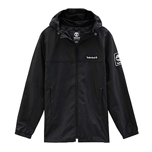 Timberland Herren Windbreaker FZ Jacket A1WXE Black L - Timberland Herren Block