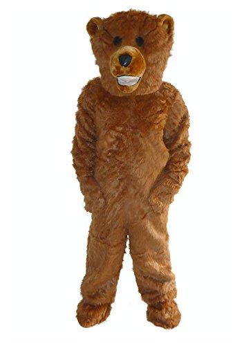 Braunbär Fell Einheitsgrösse L -XL Kostüm Fasching Bär Fasching Karneval (Teddy Bär Kostüm Für Erwachsene)
