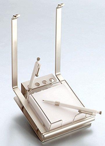 Schreibsethalter Küchenreling Linero 2000 Edelstahloptik Zettelbox Kugelschreiber *521333
