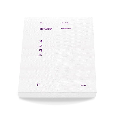 BTS Memories of 2017 Blu-Ray 5Discs+Paper Photo Frame+Photocard+Free Gift