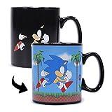 Half Moon Bay Tazza Termosensibile Sonic The Hedgehog Heat Change, Multicolore, 400Ml-12.5 (W) X 10 (H) X 9.5 (D) Cm