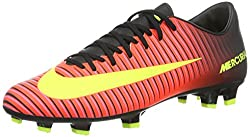 Nike Herren MERCURIAL VICTORY VI FG Fußballschuhe, Pink (Rosa-Rot/Gelb/Schwarz/Pink), 42 EU