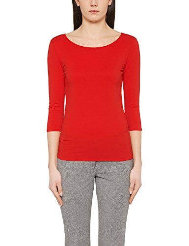 Marc Cain Essentials Marccaindament-Shirts+e4812j03, T-Shirt Femme Rot (scarlet 272)