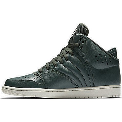 Nike Jordan 1 Flight 4, Chaussures de Basketball Homme Olive-Vert