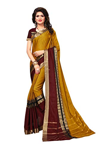 Indira Designer Women's Mysore Art Silk Saree With Blouse (Musratd)