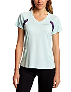Brooks Women's Epiphany Short Sleeve Running Top - Seafoam/Eggplant, X-Small