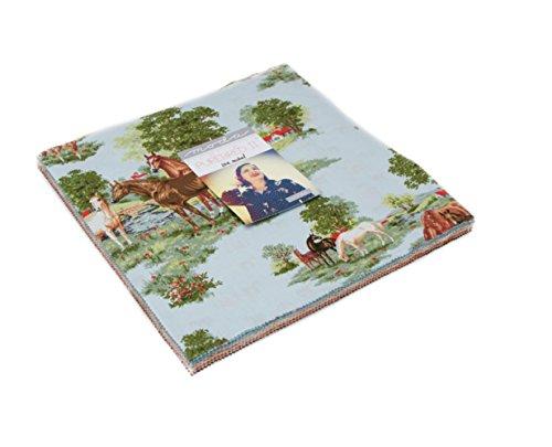 Wildblumen-shirt (Wasserspeier II Schicht Kuchen, 42-10vorgeschnittenen Stoff Quilt Squares by Erin Michael für Moda Stoffe A)