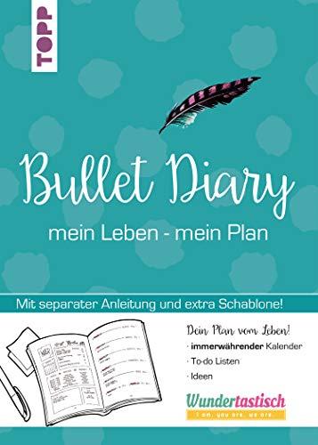 Kordel Extra Großer Schrift (Bullet Diary: mein Leben - mein Plan.Extra Booklet (mit Anleitung) und Schablone in hinterer Klappe)