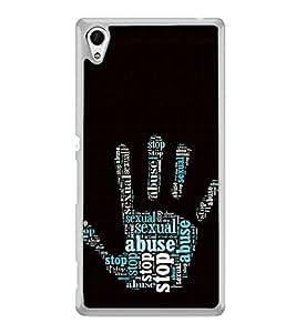 ifasho Designer Phone Back Case Cover Sony Xperia M4 Aqua :: Sony Xperia M4 Aqua Dual ( Blue Dot Brown Rose Colorful Pattern Design )