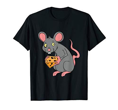 Lustiges Maus mit Käse Sucht Geschenk für Low Carb Diät Koch T-Shirt