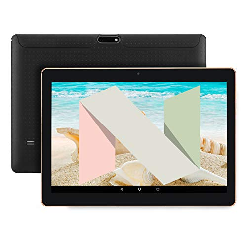 tablet android nougat 10 Pollici 3G Phablet Quad Core Phone Android 7.0 Nougat Tablet PC 2GB RAM sbloccato Dual Sim Slots per schede SIM Bluetooth GPS WIFI risoluzione 1280X800 display IPS Schermo