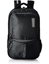 American Tourister Polyester 28 Ltrs Black Laptop Backpack (AMT TECH GEAR LAPTOP BP 01-BLK)
