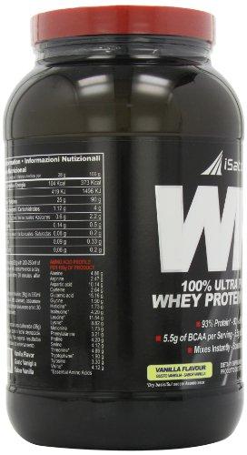 Isatori Integratore di Proteine Isolate del Siero del Latte, Vaniglia - 908 g - 41avld%2Byw9L