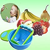 #8: CHRONEX MASH AND SERVE BOWL FOR MAKING BABY HOME MADE FOOD
