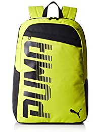 Puma 24 Ltrs Nrgy Yellow-Black Laptop Backpack (7471406)