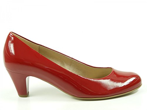 Gabor 35-200-75, Escarpins femme Rouge