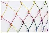 Danzetta Katzennetz Katzenschutznetz Schutznetz bunt | 3x8 m | engmaschig & stabil