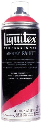Liquitex Professional - Acrílico en spray, 400ml, rojo de cadmio oscuro (imit.) 5