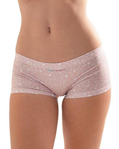 Croota Damen Seamless Panties Unterhosen - Comfort,, WUML01L (Low-rise Cheeky Hipster)
