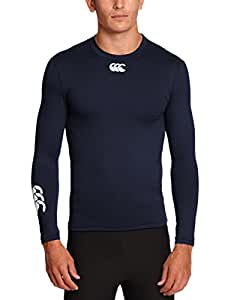 Canterbury Men's Baselayer Cold Long Sleeve Top - Navy, Small