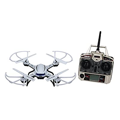 Goolsky JJR/C H12C H12C-5 2.4G 4CH 6-Axis Gyro RC Quad-copter Super Power LED Lights CF Mode One Press Return RTF Drone with HD 1080P 5.0MP Camera