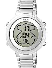 Reloj TOUS digital Digibear de acero Ref:900350025