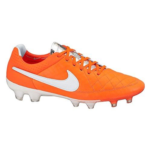 Nike Tiempo Legend V Fg 631518 Herren Fußballschuhe Training Total Crimson/White-Metallic Silver
