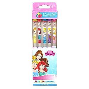 Scentco Princesas Disney Smencils (Paquete de 5), Color Rosa