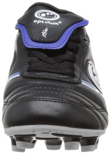 Optimum Tribal Moulded, Chaussures de Rugby Garçon Noir (black/blue)