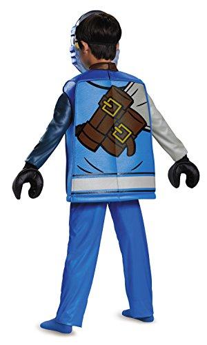 Imagen de disfraz de lujo de jay lego ninjago pequeño  alternativa