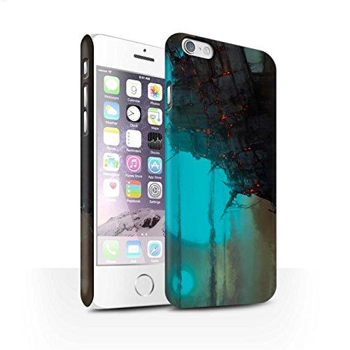 Offiziell Chris Cold Hülle / Matte Snap-On Case für Apple iPhone 6 / Schiffswrack Muster / Gefallene Erde Kollektion Gift Haupt