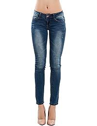 681457e226 Amazon.it: Pantaloni Donna Vita Bassa - Jeans / Donna: Abbigliamento