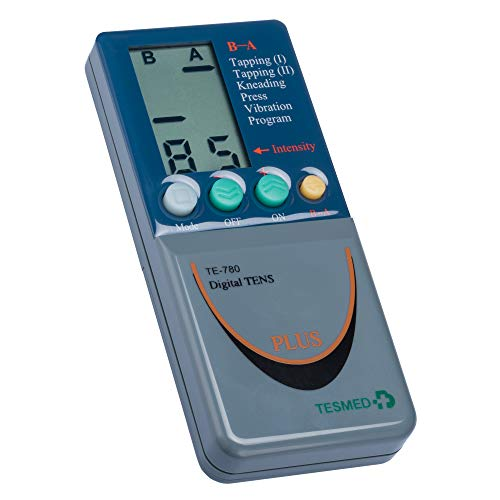 TESMED TE780 PLUS elettrostimolatore muscolare: sport,estetica, TENS -2 canali - Utilizzo di 8 elettrodi contemporaneamente