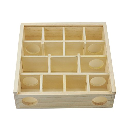 Omem Hamster balançoire Jouets, hamster Hamac, nid de hamster Jouets en bois d'animaux, pour animal domestique Hamster Jouets