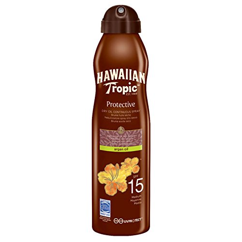 Hawaiian Tropic Lip Gloss Island Berry LSF 25, 2er Pack (2 x 20 ml)