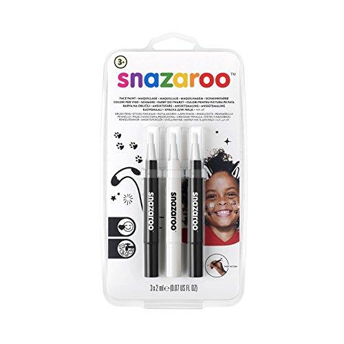 Snazaroo Set de 3 Rotuladores de Maquillaje
